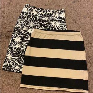 Assorted Mini Skirts